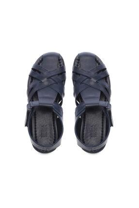 Kemal Tanca Erkek Derı Sandalet Sandalet 676 E4504 Erk Sndlt 3