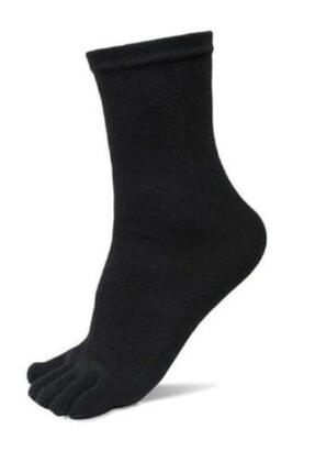 AKDEMİR 6'lı Paket Mantar Ve Koku Önler Parmaklı Çorap Karışık Renk 2