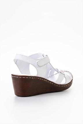 Bambi Beyaz Kadın Sandalet L0809708403 3