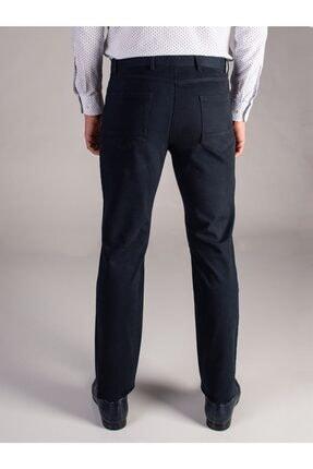 Dufy K.lacivert Düz Erkek Pantolon - Regular Fıt 2