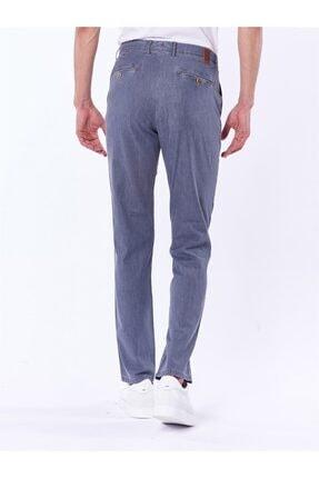 Dufy Açık Gri Büyük Beden Düz Erkek Pantolon - Battal 3