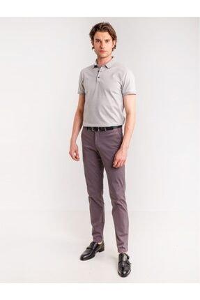 تصویر از Antrasit Pamuk Likra Karışımlı Erkek Pantolon - Classic Fit