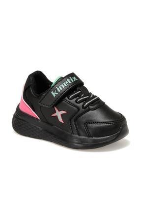 Kinetix MARNED J Siyah Kız Çocuk Yürüyüş Ayakkabısı 100534008 0