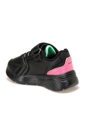 Kinetix MARNED J Siyah Kız Çocuk Yürüyüş Ayakkabısı 100534008 2