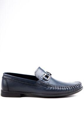 Milano Brava Hakiki Deri Günlük Loafer Erkek Ayakkabı Hsm904 Lacivert 0
