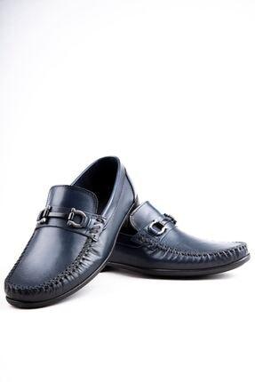 Milano Brava Hakiki Deri Günlük Loafer Erkek Ayakkabı Hsm904 Lacivert 4
