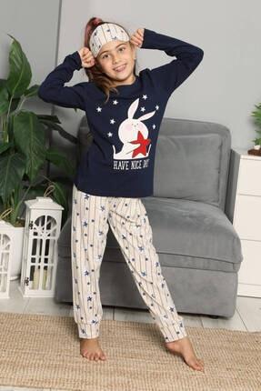 Mossta Uzun Kol Çocuk Pijama Takımı 0