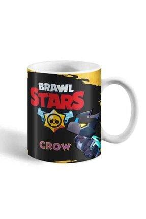 Bihediyeci Brawl Stars Mecha Crow Temalı Kupa Bardak 1