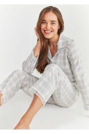 Suwen Sofia Maskulen Pijama Takımı 0