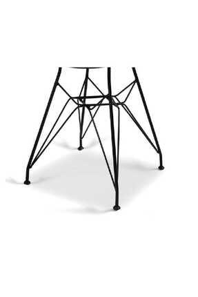 Evdemo Dekor Tel Sandalye Siyah 2