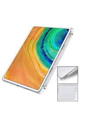 Microcase Huawei Matepad Pro 10.8 Inch Uyumlu Tablet Soft Tpu Kalem Koymalı Silikon Kılıf Şeffaf 2