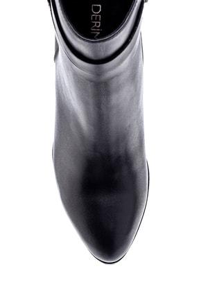 Derimod Kadın Deri Topuklu Bot 4