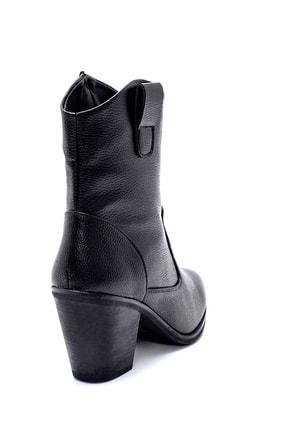 Derimod Kadın Topuklu Kovboy Bot 3