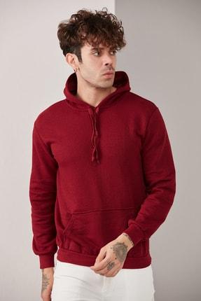 CATSPY Erkek Basic Kapüşonlu Örme Sweatshirt 1