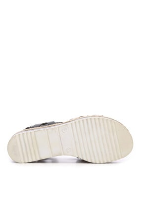 Kemal Tanca Kadın Derı Sandalet Sandalet 649 303 Bn Snd 4