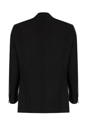 İgs Erkek Siyah Slım Fıt / Dar Kalıp Std Takım Elbise 1
