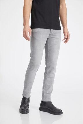 Avva Erkek Gri Slim Fit Jean Pantolon A02y3578 1