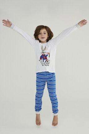 Penti Çok Renkli Erkek Çocuk Super Bunny 2li Pijama Takımı 2