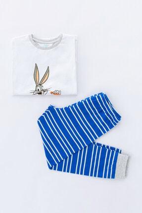 Penti Çok Renkli Erkek Çocuk Super Bunny 2li Pijama Takımı 4