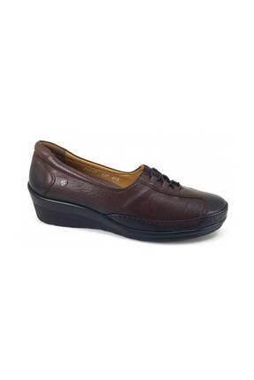 تصویر از 26217 Günlük Ortopedik Kadın Ayakkabı - Kahverengi Kadın Ayakkabı Ayakkabı