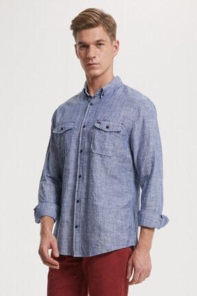 Lee Cooper Erkek Elian Uzun Kol Gömlek 192 Lcm 241007 0
