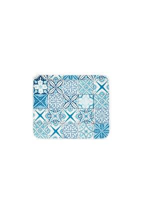 Karaca Home Blue Patch 2 Parça Baskılı Banyo Halısı 3