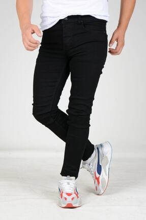 Erkek Siyah Skinny Jean Kot Pantolon EDWFLOPPY01
