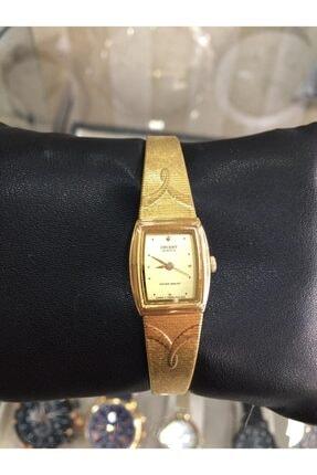 Orient Gold Renk Hasır Kordon Bayan Saat 0