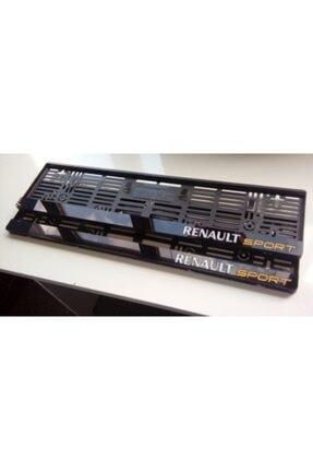 Berişbek Kardeşler Renault Sport Pleksi Plakalık Plaka Çerçevesi Takımı (2 Adet) Aynalı Lazer Kesim 1