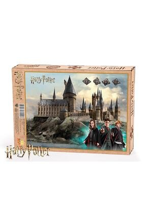 King Of Puzzle Harry Potter Hogwarts Castle Ahşap Puzzle 1000 Parça 0