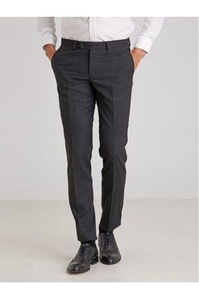 تصویر از Antrasit Düz Erkek Pantolon - Slim Fit