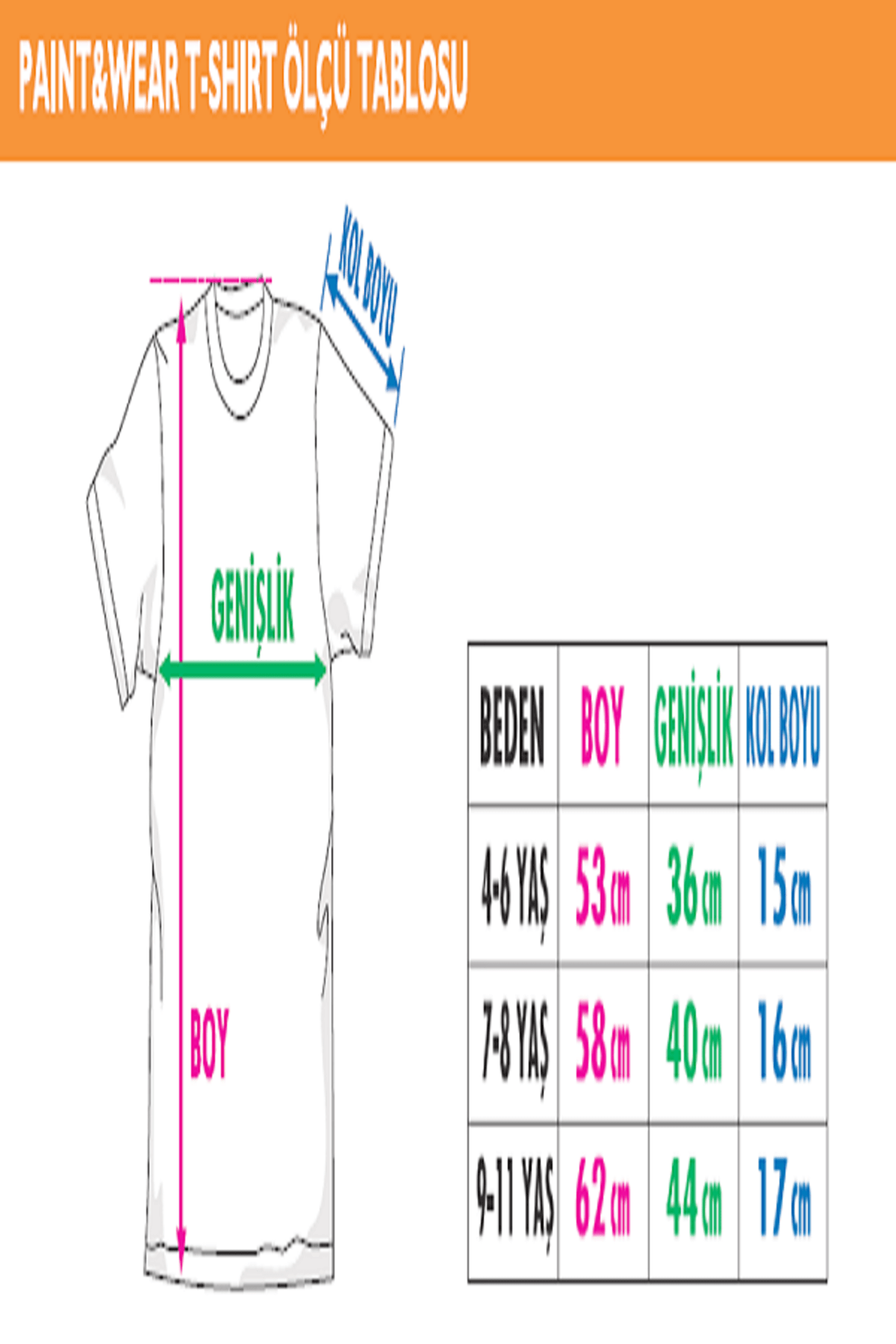 paint-wear Dinazor Ailesi Boyama T-shirt 7-8 Yaş 3