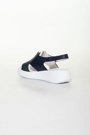 derithy Kadın Lacivert Sandalet 3