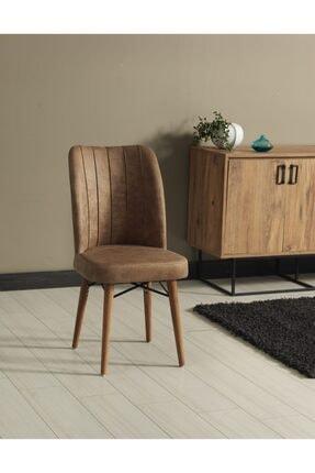 Kaykolsan Home Ahşap Ayaklı Mutfak Sandalyesi Geniş Ve Rahat Oturum Sağlam Gövde 0