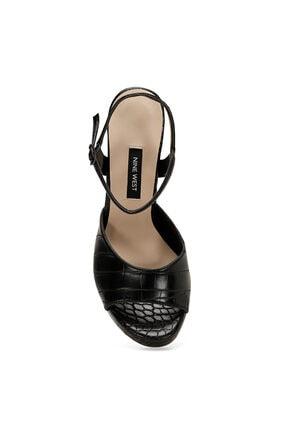 Nine West CENDO Siyah Kadın Topuklu Sandalet 100526407 1