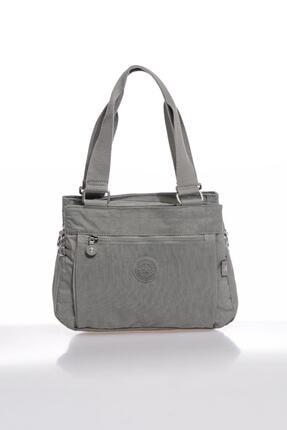 Smart Bags Smbky1125-0078 Gri Kadın Omuz Çantası 0