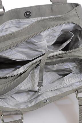 Smart Bags Smbky1125-0078 Gri Kadın Omuz Çantası 3