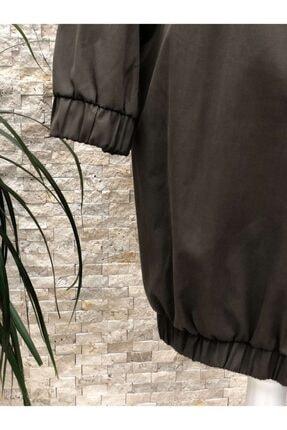 Loreen Fashion Trençkot Kapüşonlu Kap 3