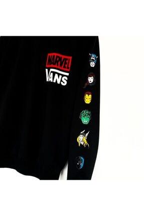 Ef Butik Siyah Marvelvans Sweatshirt 1