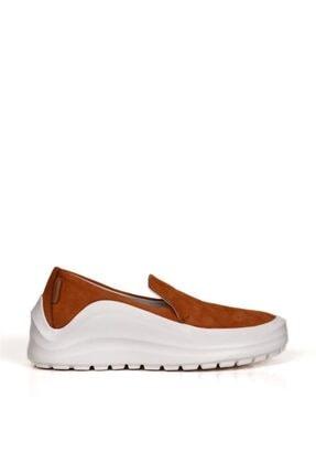 BUENO Shoes Hakiki Deri Bağcık Detaylı Kadın Spor Ayakkabı 20wq7603 0