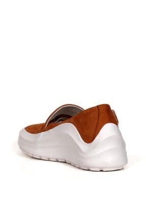 BUENO Shoes Hakiki Deri Bağcık Detaylı Kadın Spor Ayakkabı 20wq7603 3