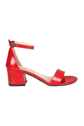 PUNTO 462059 Kırmızı Rugan Kadın Stiletto 0