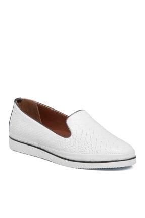 تصویر از Beyaz Deri Kadın Ayakkabı 64791a26