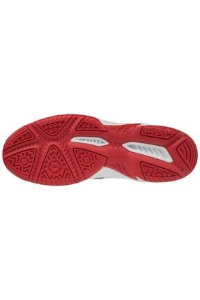 Mizuno Cyclone Speed 2 Unisex Voleybol Ayakkabısı Beyaz / Kırmızı 3