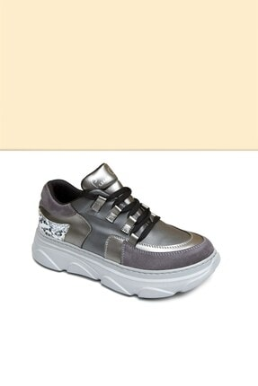 Pierre Cardin PC-30322 Platin Kadın Spor Ayakkabı 1