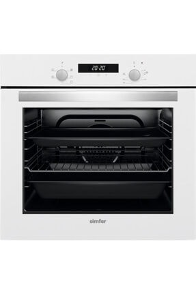 Simfer Kardelen Beyaz Dijital Ankastre Cam Set (3507 - 8668 - 7340) 2
