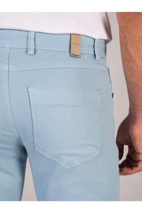 Dufy Mınt Düz Erkek Pantolon - Slım Fıt 3