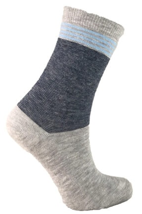 Şirin Pamuklu Desenli Kokulu 6 Çift Bayan Soket Çorabı 1