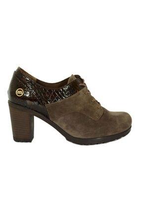Mammamia Kadın Deri Topuklu Ayakkabı 3055 0