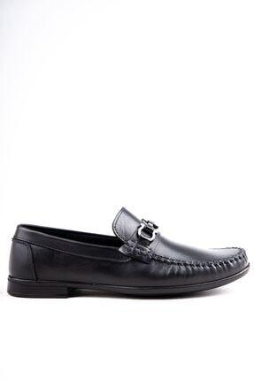 Milano Brava Hakiki Deri Günlük Loafer Erkek Ayakkabı Hsm904 Siyah 1